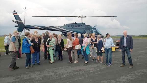 Zeitpaten Ausflug Siegerland Flughafen